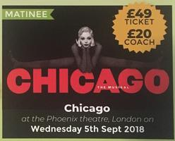 Make My Days - Chicago - Matinee - London Tickets, Wed, 5 Sep 2018 ...