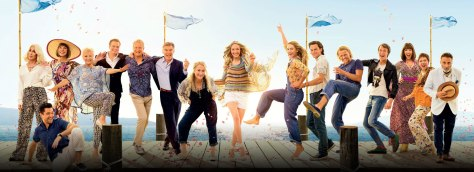 De cast van Mamma Mia! Here We Go Again