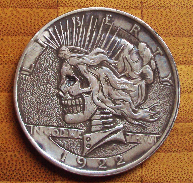 Valerie Vaughn Hobo Art Dollar Coin