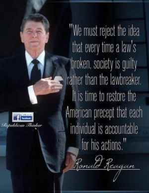 Image result for ronald reagan organized crime