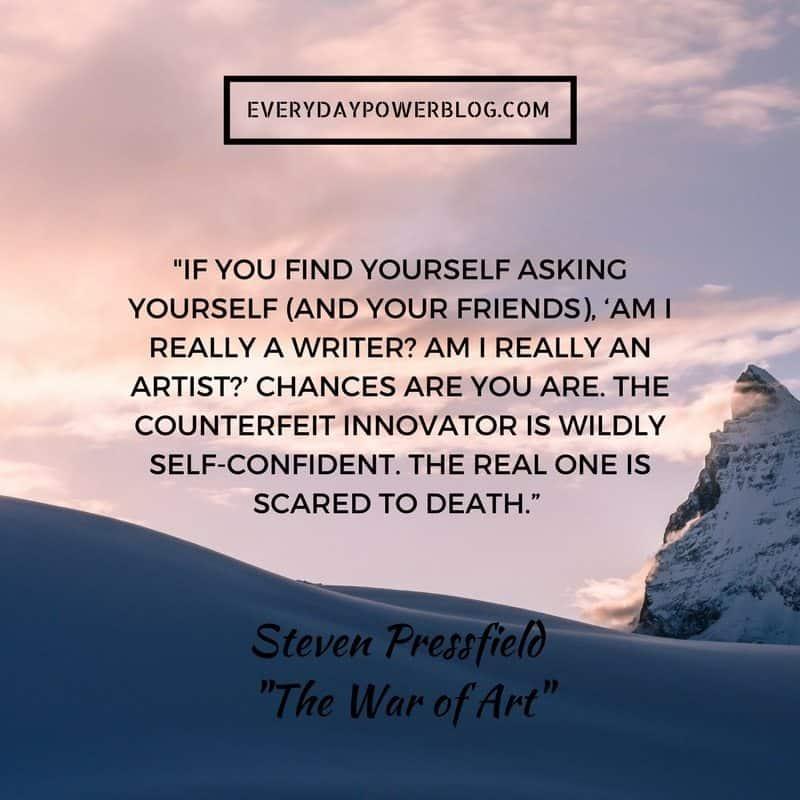 How I Overcame Creative Self Doubt
