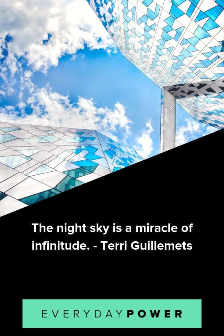 beautiful and inspirational quotes about the sky