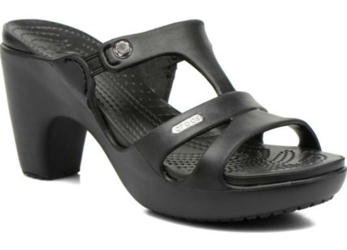 could heeled crocs be
