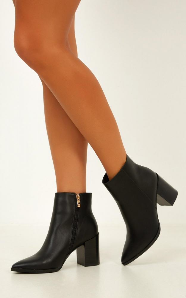 Billini - Acler Boots In Black 14