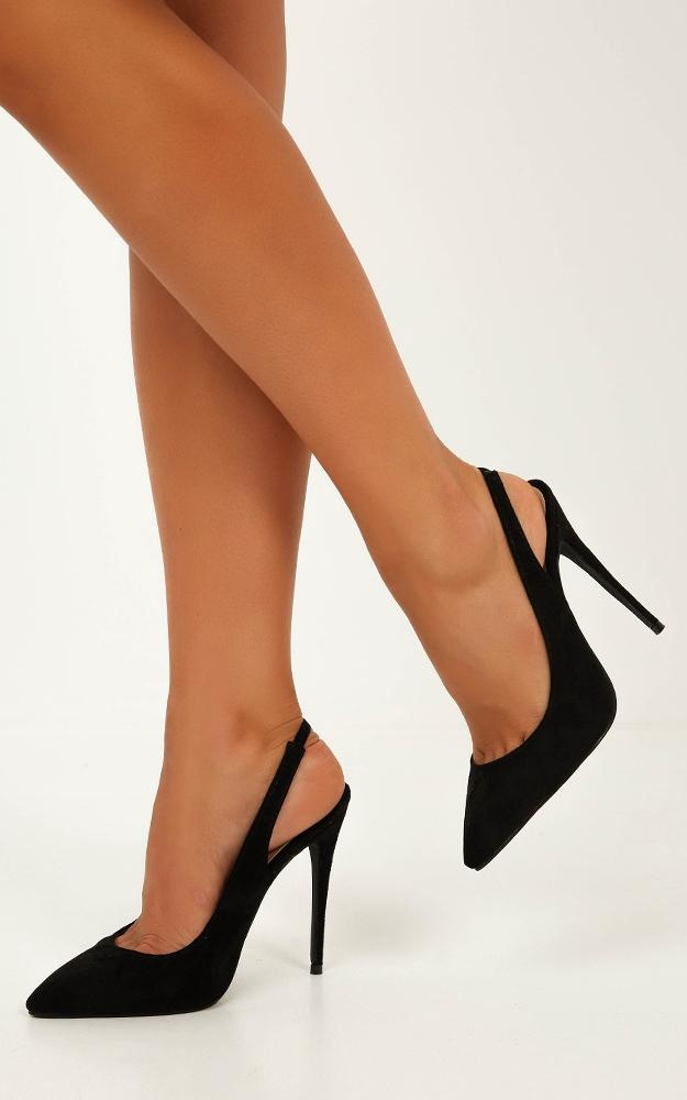 Billini - Renya Heels In Black Micro 7