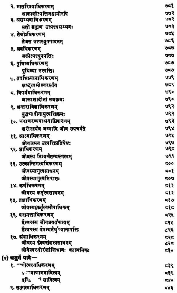 ब्रह्मसूत्र-शांकरभाष्यम् : Brahma Sutra Sankara Bhasya