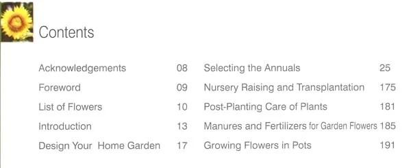 Indian Garden Flowers (Home Gardeners' Guide)