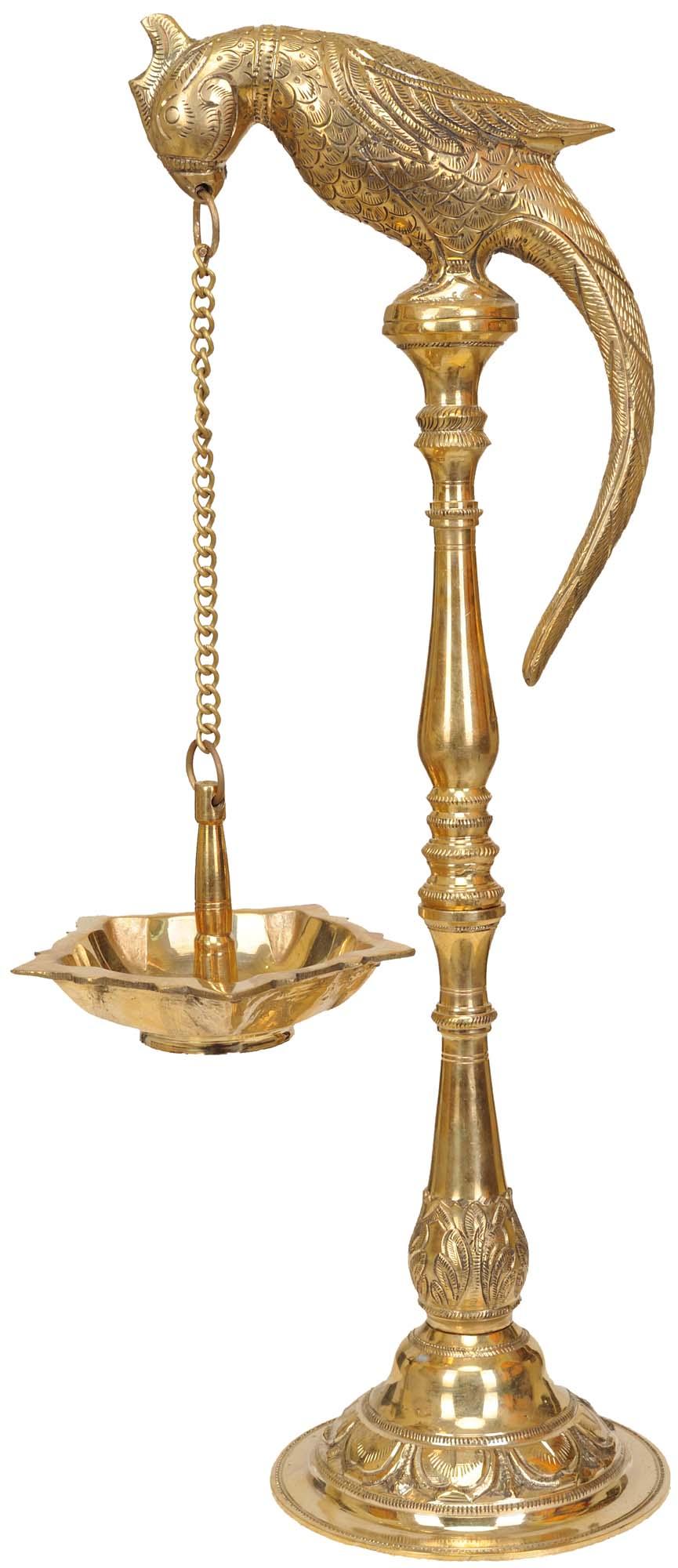 Parrot Lamp
