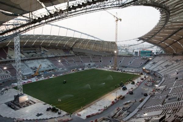 Sneak Peak of Qatars First 2022 FIFA World Cup Stadium