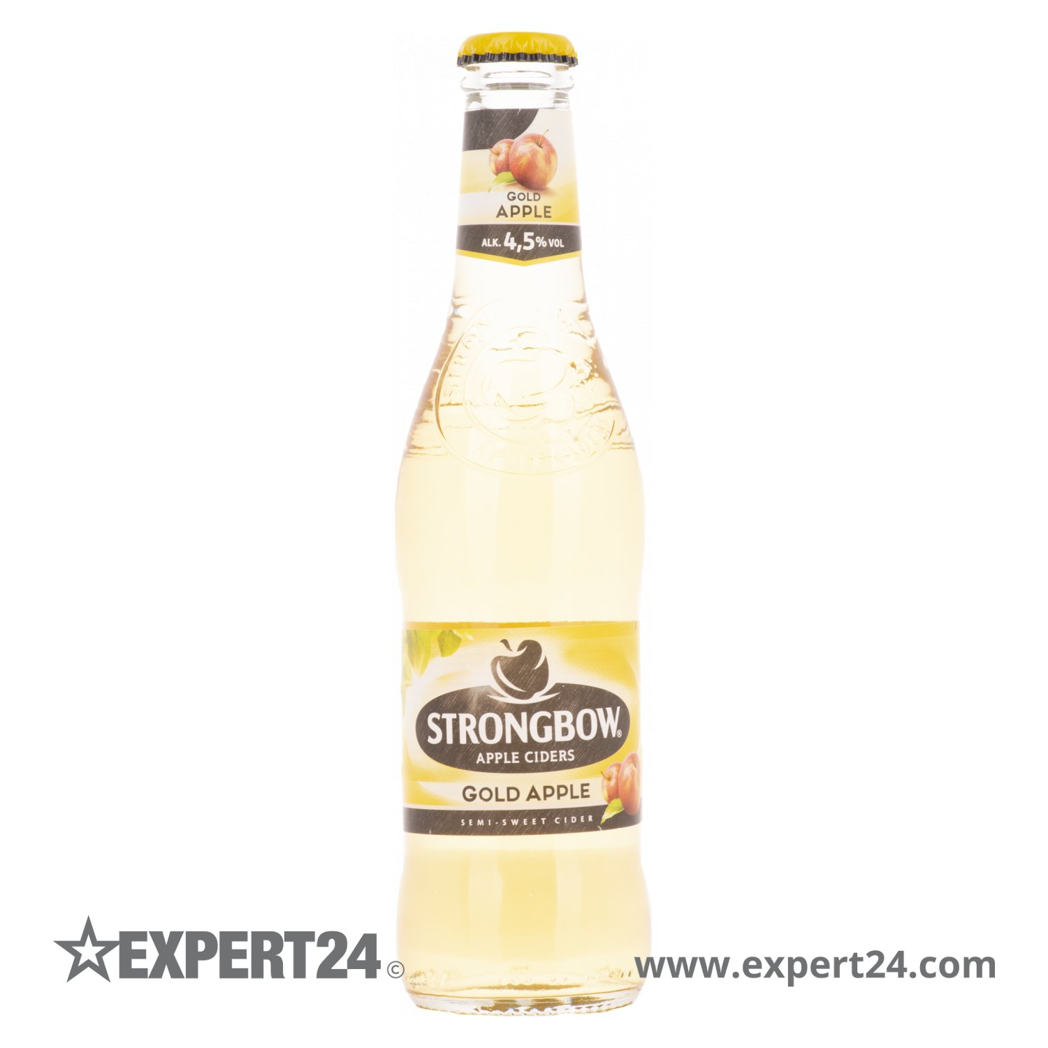 Cider Getränk Strongbow Cider Gold Apple 4,5% Vol. 6x4x0,33l