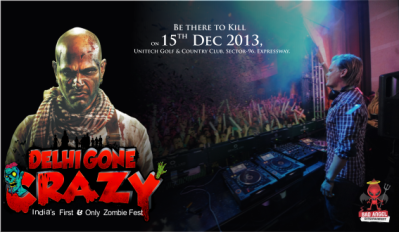Book Delhi Gone Crazy : Indias First And Only Zombie Fest ...
