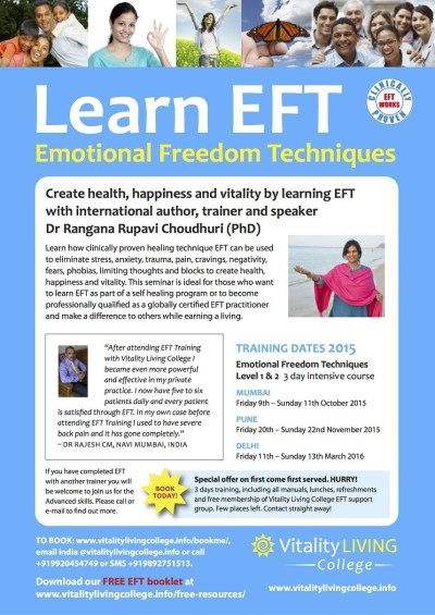 Book Learn Emotional Freedom Technique (EFT) With Master ...