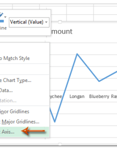 Right click the axis where you will change all negative labels  font color and select format from clicking menu also how to chart size in excel rh extendoffice