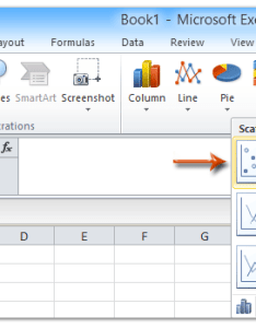 Select the original experiment data in excel and then click scatter   on insert tab also how to add best fit line curve formula rh extendoffice