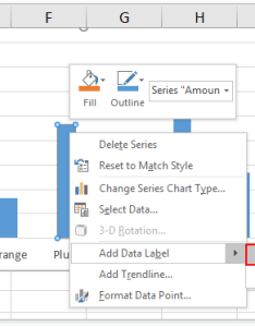 Click twice to select the specified data point right it and then add label   in context menu see screenshot also how comment  an excel chart rh extendoffice