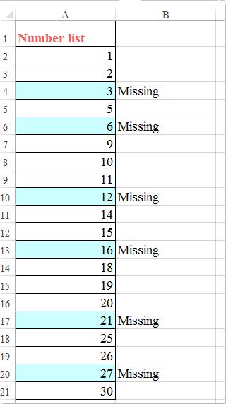 Rumus Excel Mencari Data Yang Sama : rumus, excel, mencari, Bagaimana, Mengidentifikasi, Urutan, Angka, Hilang, Excel?