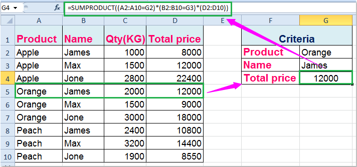 How To Vlookup Value With Multiple Criteria In Excel