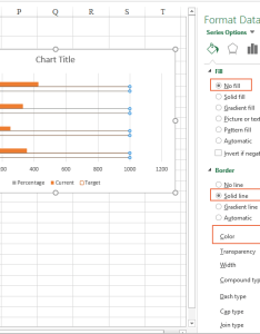 Doc progress bar chart also how to create in excel rh extendoffice
