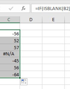Doc skip blanks in chart also how to blank cells while creating  excel rh extendoffice