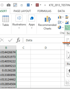 Select the range   data column and distribution click insert   scatter or doughnut chart in excel with also how to create  bell curve template rh extendoffice