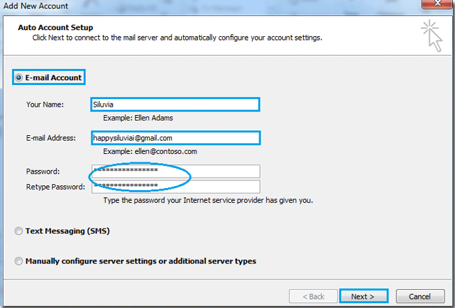 How to add new email account in Outlook?