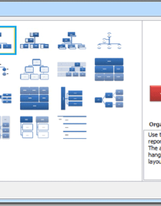 Step click hierarchy in the left pane and select one style you need from list then ok to insert smartart see screenshot also how create an organization chart word rh extendoffice