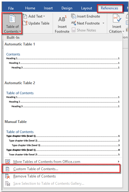 How To Create A Title Page In Word : create, title, Create, Table, Contents, Pages, Document?