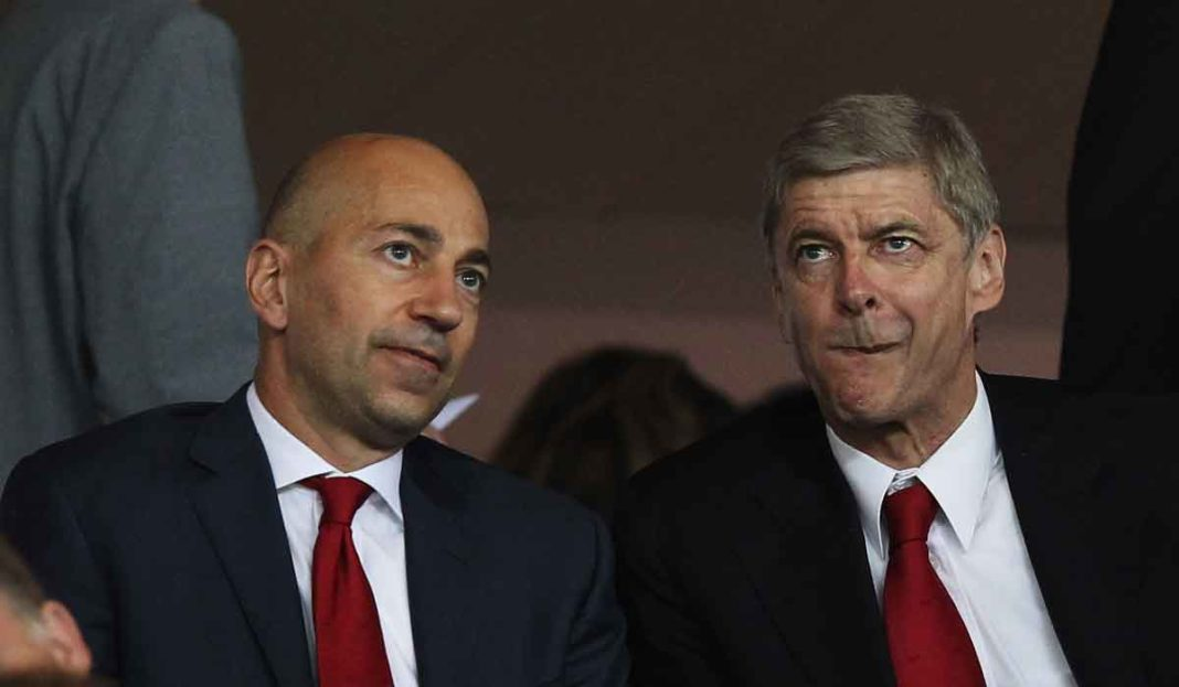 Image result for wenger gazidis
