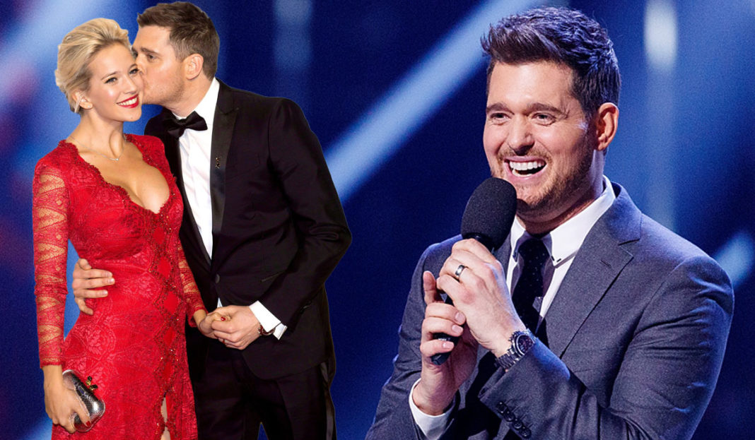 michael bublé accidentally reveals