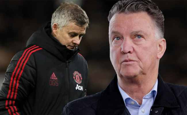 Louis Van Gaal Says Solskjaer Plays Same Way As Jose