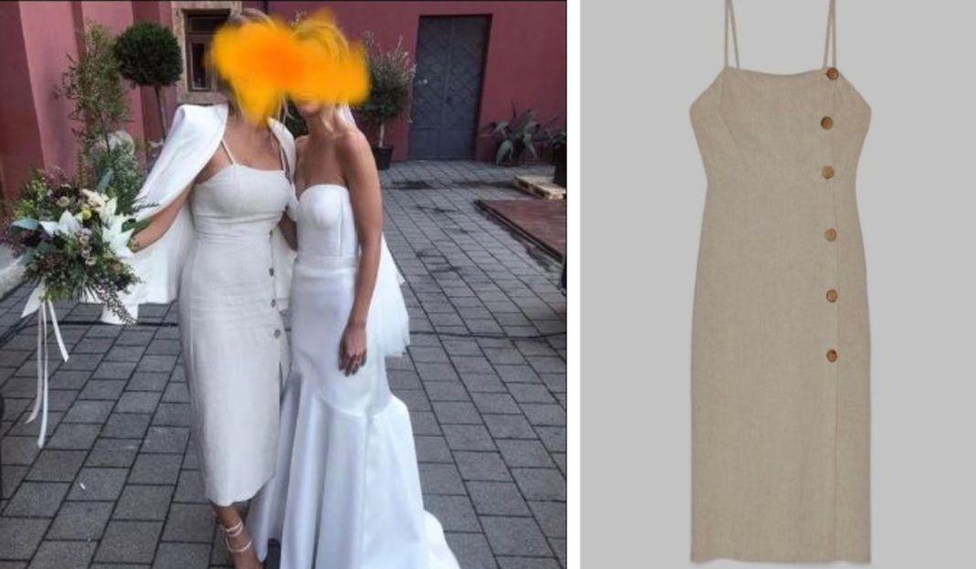 Wedding Guest Slated For Wearing 'White Dress' On Bride's