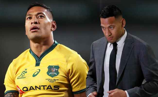 Israel Folau And Rugby Australia Settle Contract