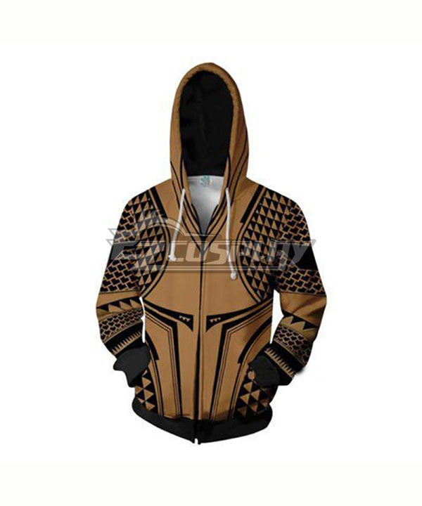 DC Comics Aquaman Arthur Curry Coat Hoodie Cosplay Costume