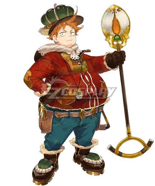 Atelier Sophie: The Alchemist of the Mysterious Book Oskar Behlmer A17 Cosplay Costume