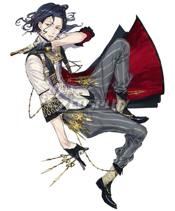 Atelier Sophie: The Alchemist of the Mysterious Book Harold Siemens Cosplay Costume