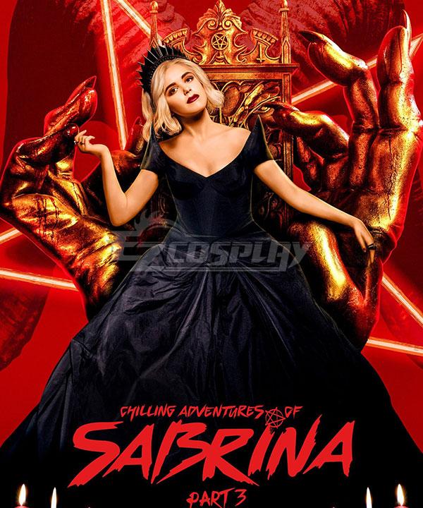 Chilling Adventures of Sabrina Sabrina Spellman Cosplay Costume