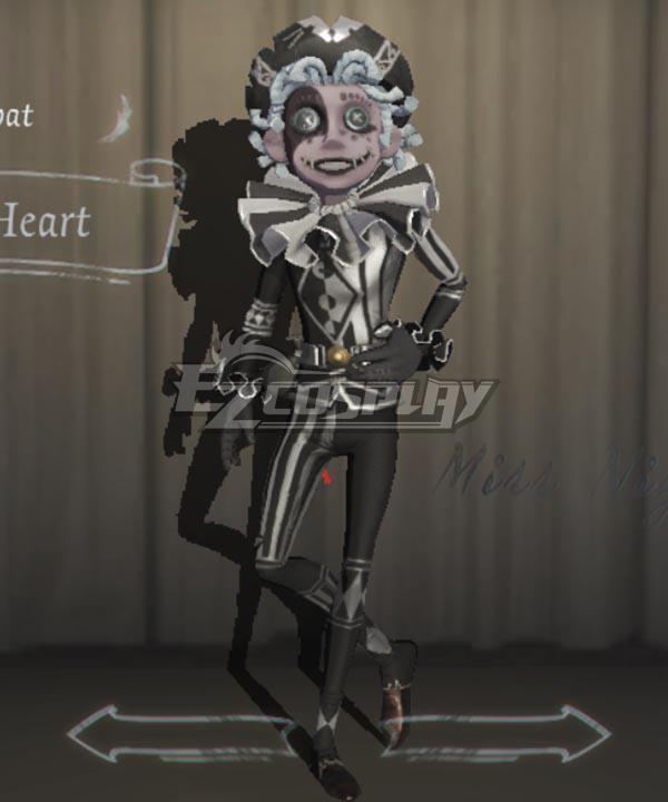 Identity V Acrobat Mike Morton Fool's Heart Halloween Cosplay Costume