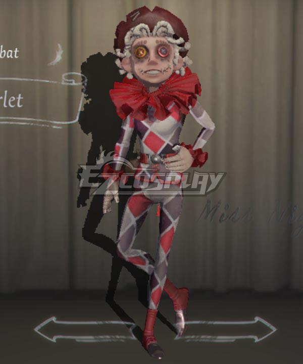 Identity V Acrobat Mike Morton Scarlet Halloween Cosplay Costume
