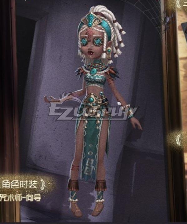 Identity V Enchantress Patricia Dorval Guide Halloween Cosplay Costume