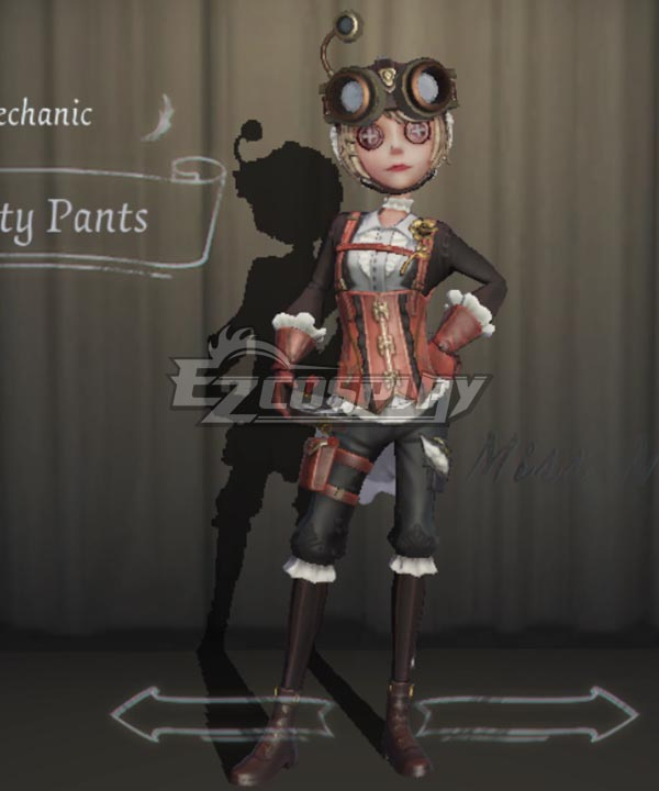 Identity V Mechanic Tracy Reznik Smarty Pants Halloween Cosplay Costume