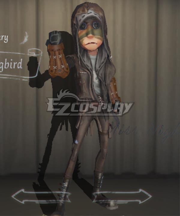 Identity V Mercenary Naib Subedar Hummingbird Halloween Cosplay Costume