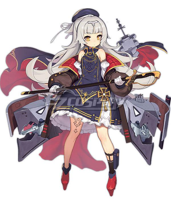 Azur Lane KMS Z46  Cosplay Costume