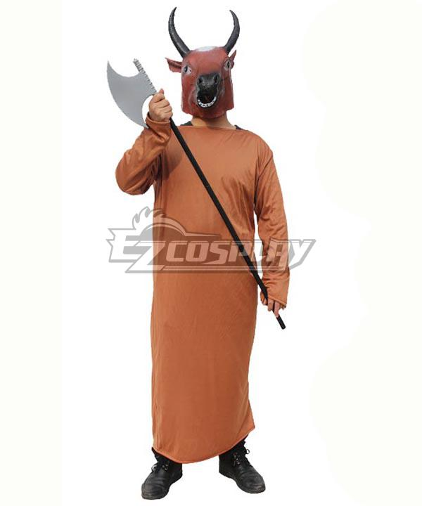 Head of An Ox Halloween Cosplay Costume
