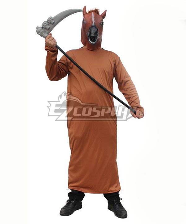 Horse faced Halloween Cosplay Costume