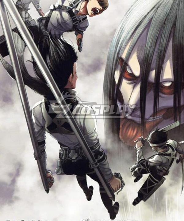 Attack On Titan Final Season Mikasa Ackerman Cosplay Costume