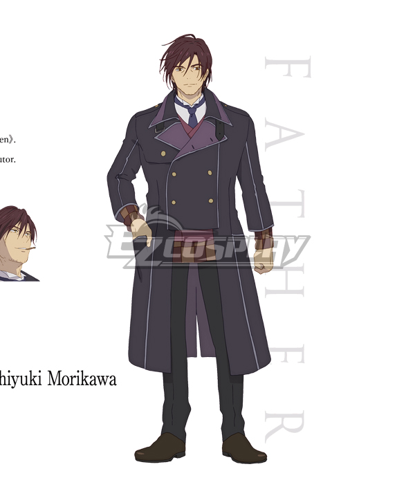 Assassins Pride Father Cosplay Costume