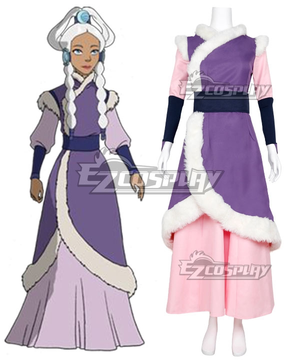 Avatar The Last Airbender Princess Yue Cosplay Costume - 119