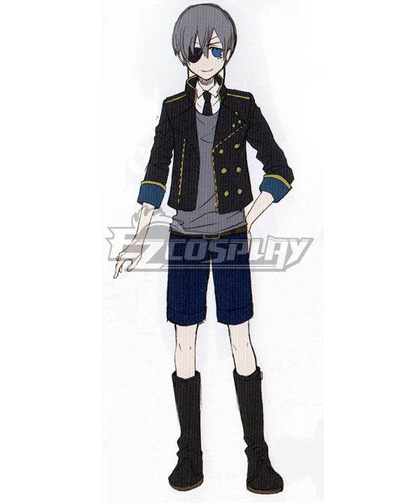 Black Butler Kuroshitsuji OVA The Making of Kuroshitsuji II Ciel Phantomhive Interview Cosplay Costume