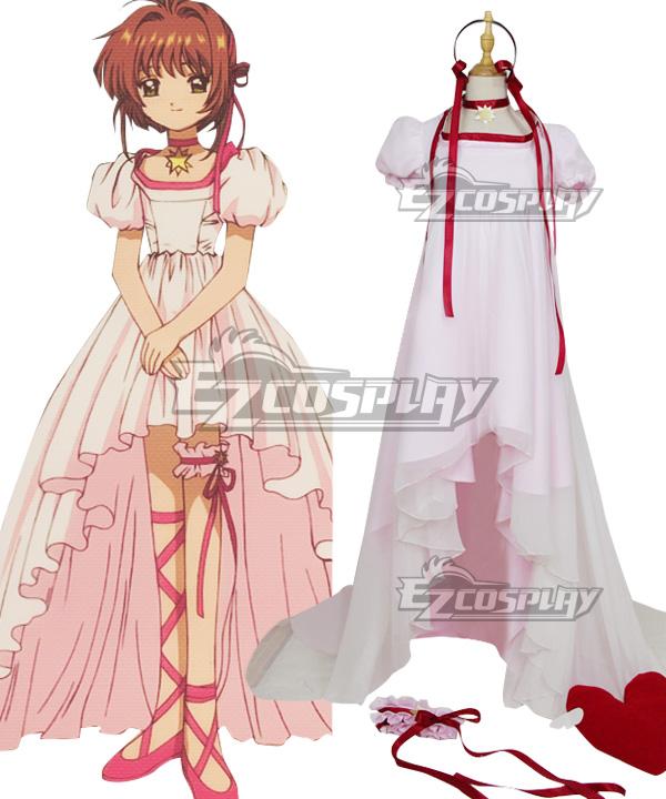 Cardcaptor Sakura: The Movie 2 Sealed Card Sakura Kinomoto Cosplay Costume