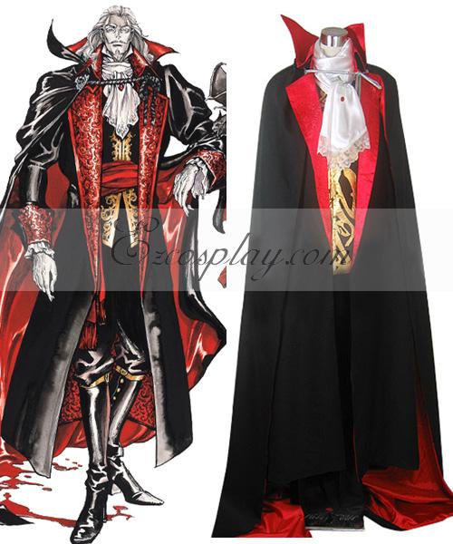 Castlevania Vampire Dracula Cosplay Costume